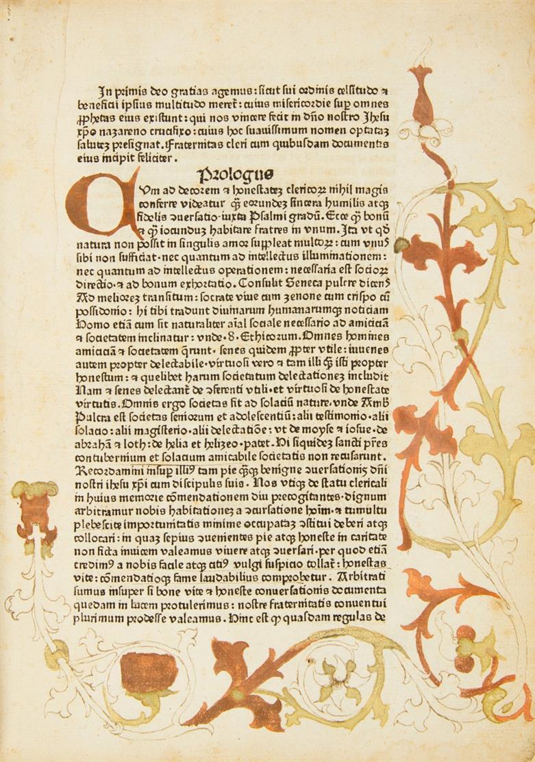 U. Ulmer, Fraternitas cleri. Ulm: Zainer d. Ä.  1478-1482.