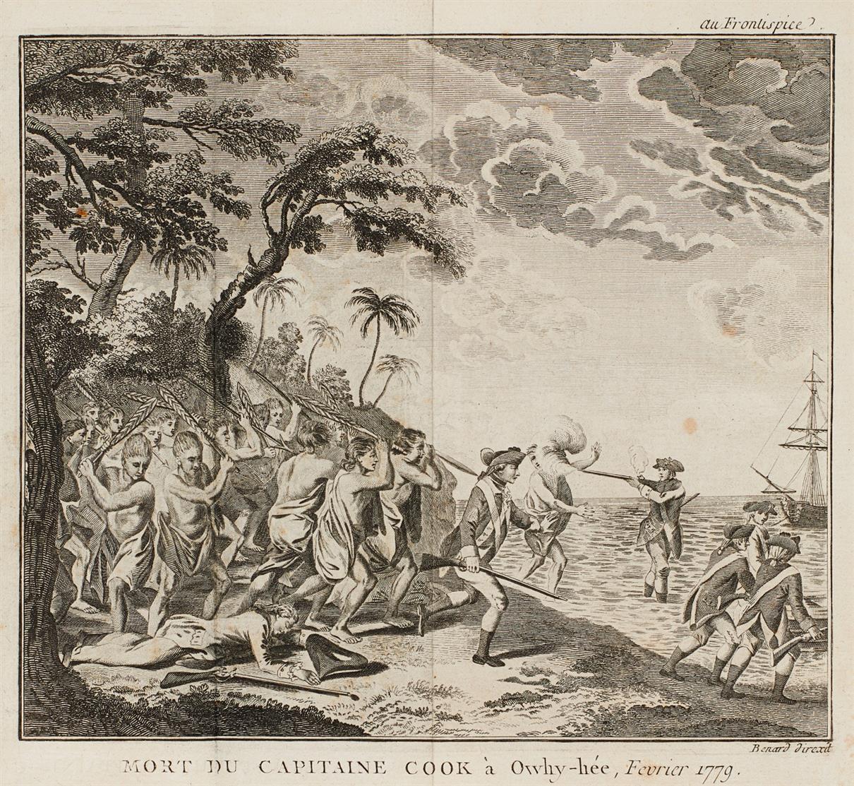 J. Rickman, Troisième voyage de Cook. 3. Aufl. Versailles u. Paris 1783.