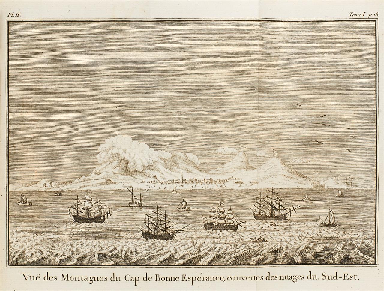 F. Levaillant, Voyage dans l'interieur de l'Afrique. 2 Bde. Lüttich 1790.