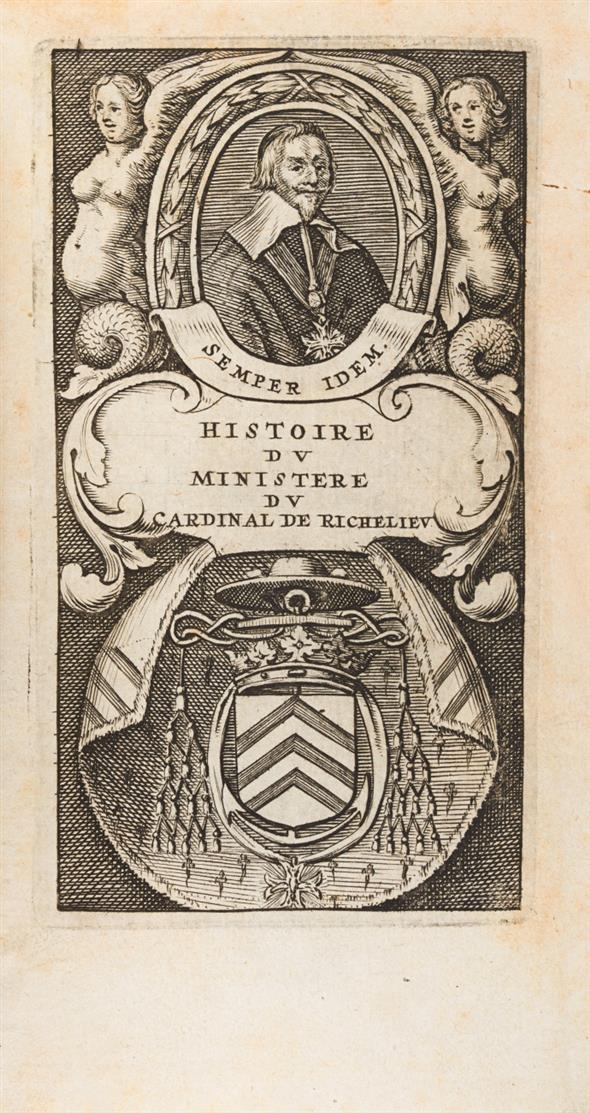 C. Vialart, Histoire du Cardinal Duc de Richelieu. 2 Bde. Paris (d.i. Leiden) 1650.