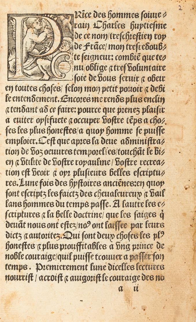 Seneca (zugeschr.),  Les motz dorez. Paris 1527.