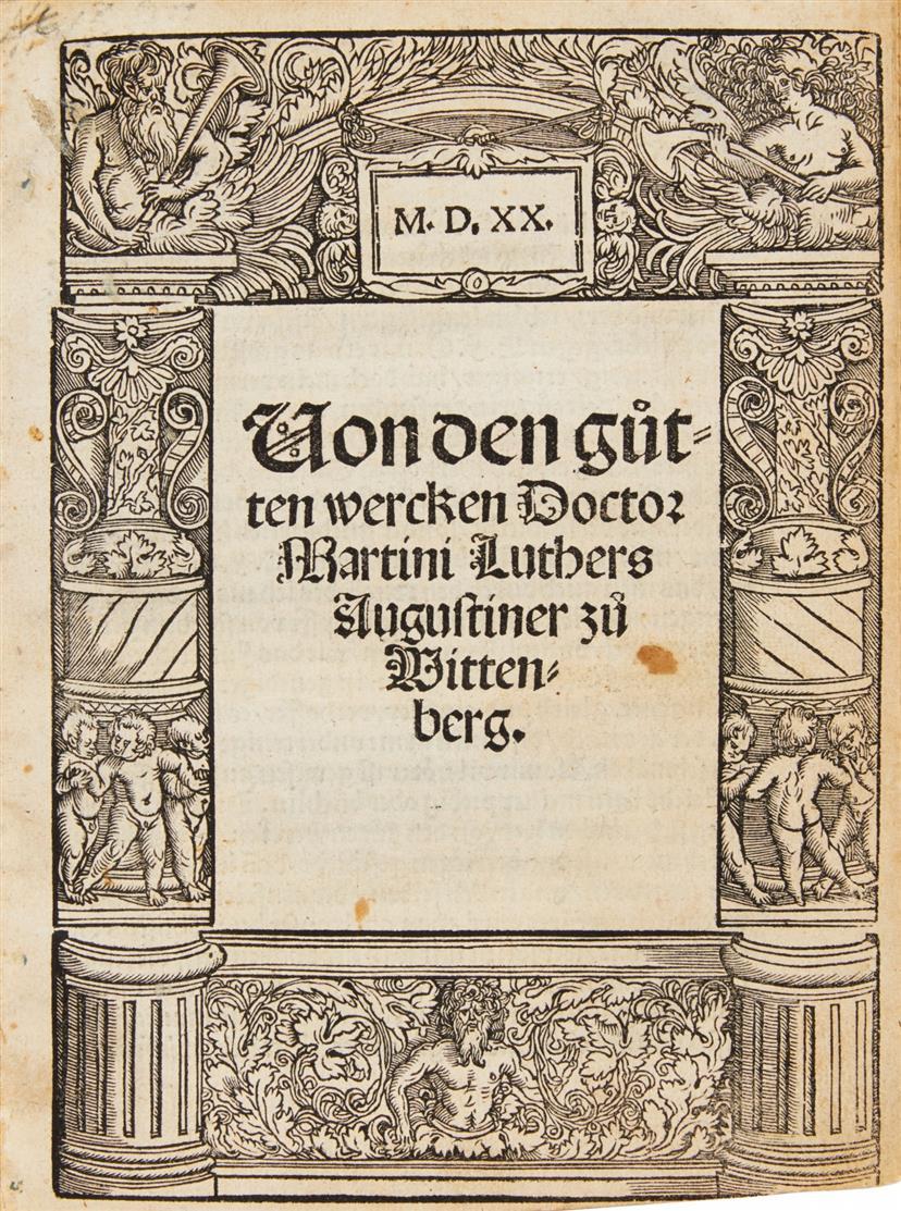 M. Luther, Von den gu(o)tten wercken. Augsburg 1520.
