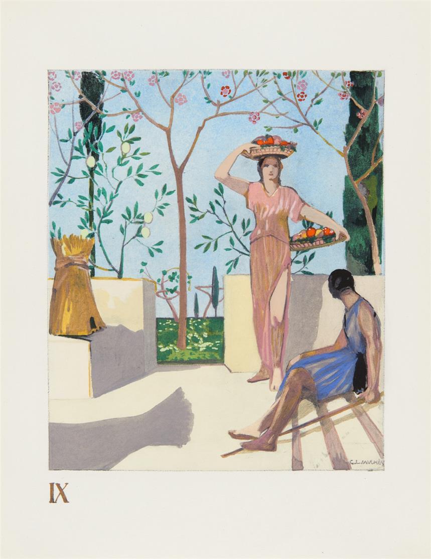 G.-L. Jaulmes, Les cantique des cantiques.. Paris 1945. - Ex. 135/400.