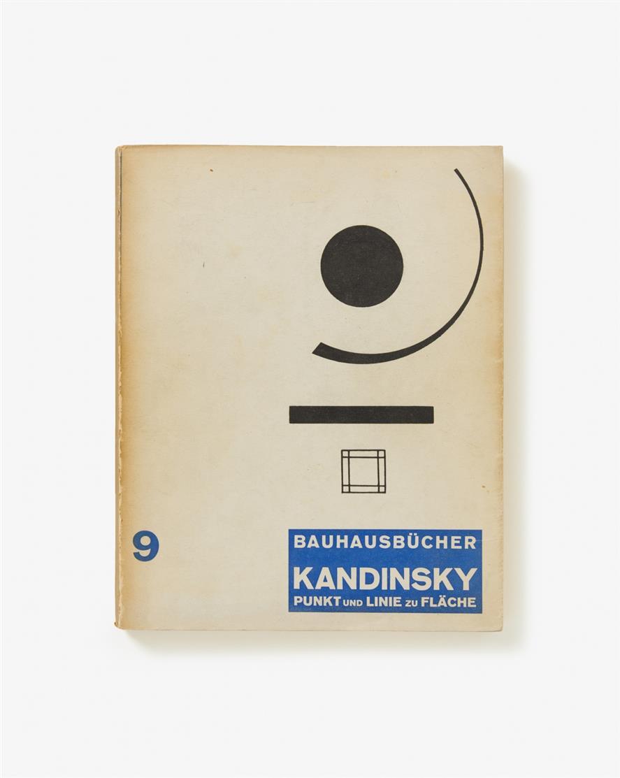 W. Kandinsky, Punkt und Linie zu Fläche. München 1926. - Bauhausbücher 9.