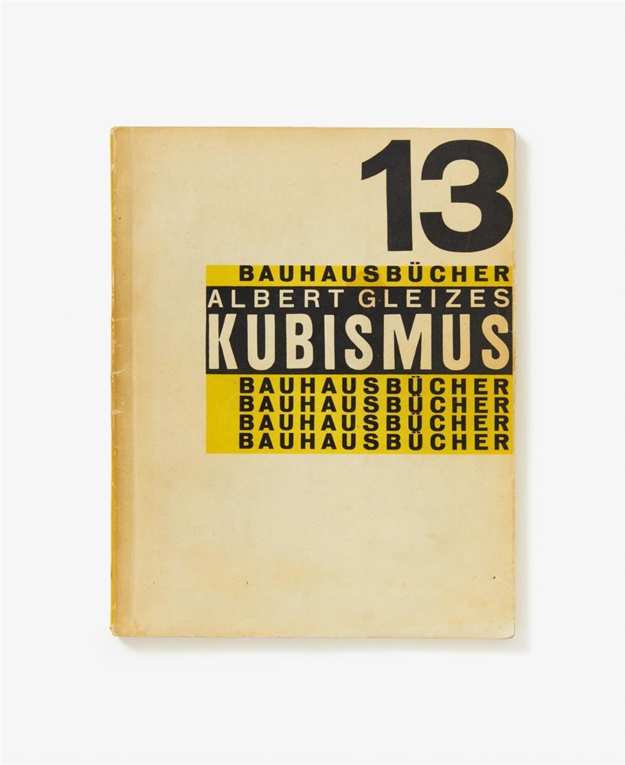 A. Gleizes, Kubismus. München 1928. - Bauhausbücher 13.