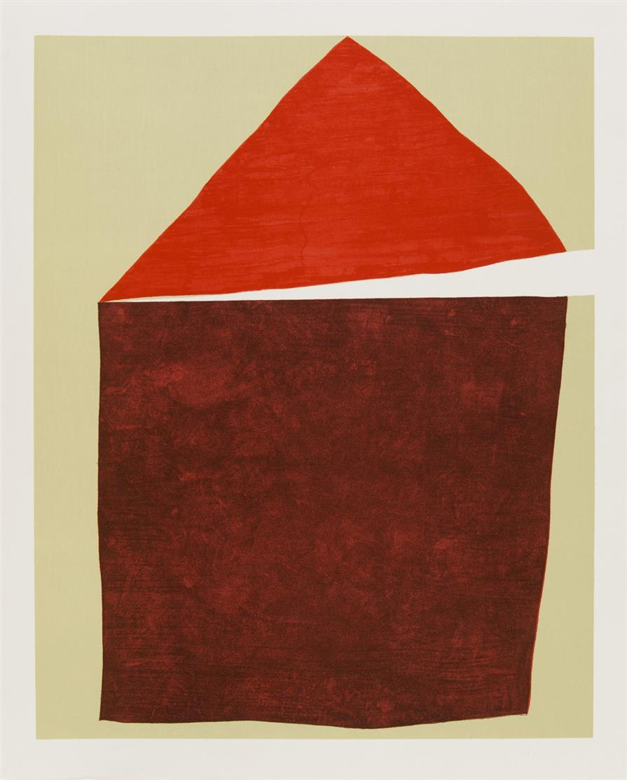 E. Pound / G. Santomaso, An Angle. St. Gallen 1972. - Ex. 143/200.