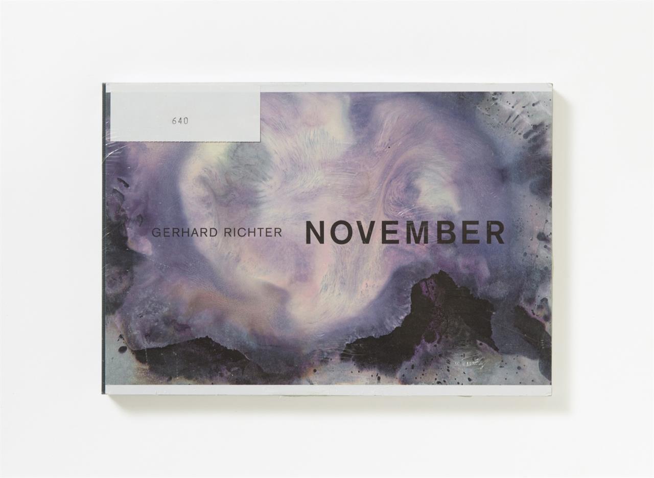 G. Richter, November. London 2013. - Ex. 640/800, signiert.