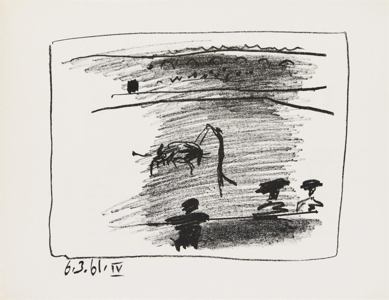 J. Sabartés, 'A los toros' mit Picasso. Monte-Carlo 1961.