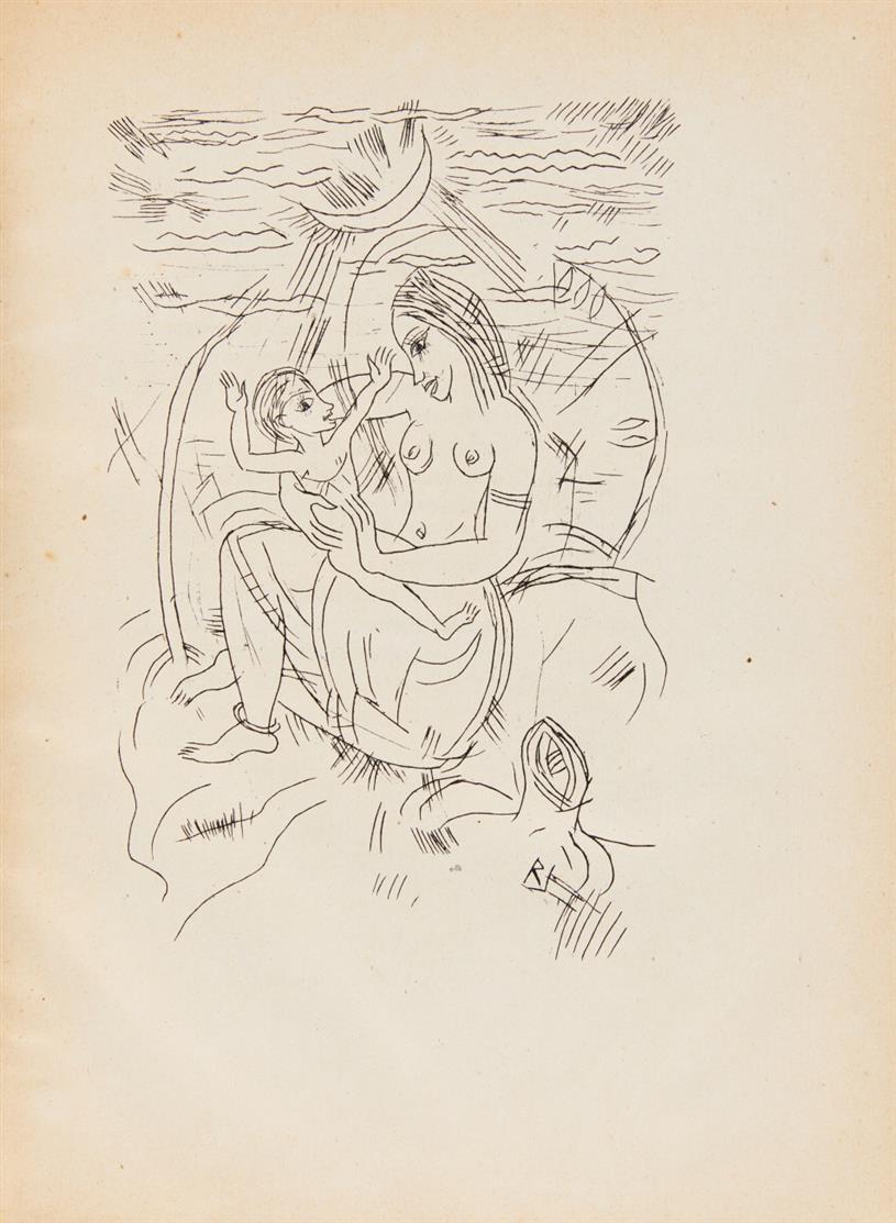 R. Tagore / R. Janthur, Vierzehn Gedichte. Bln. 1920.