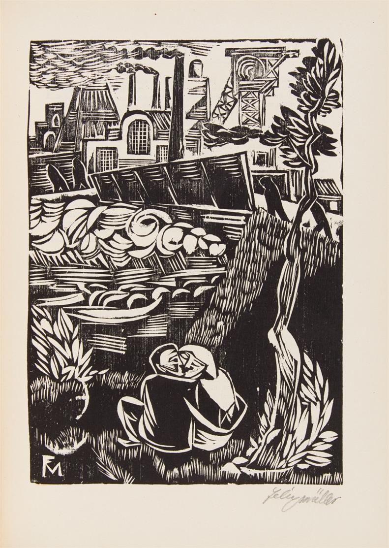 Jahrbuch der jungen Kunst. Jge. 1-5  in 5 Bdn. Lpz 1920-24.