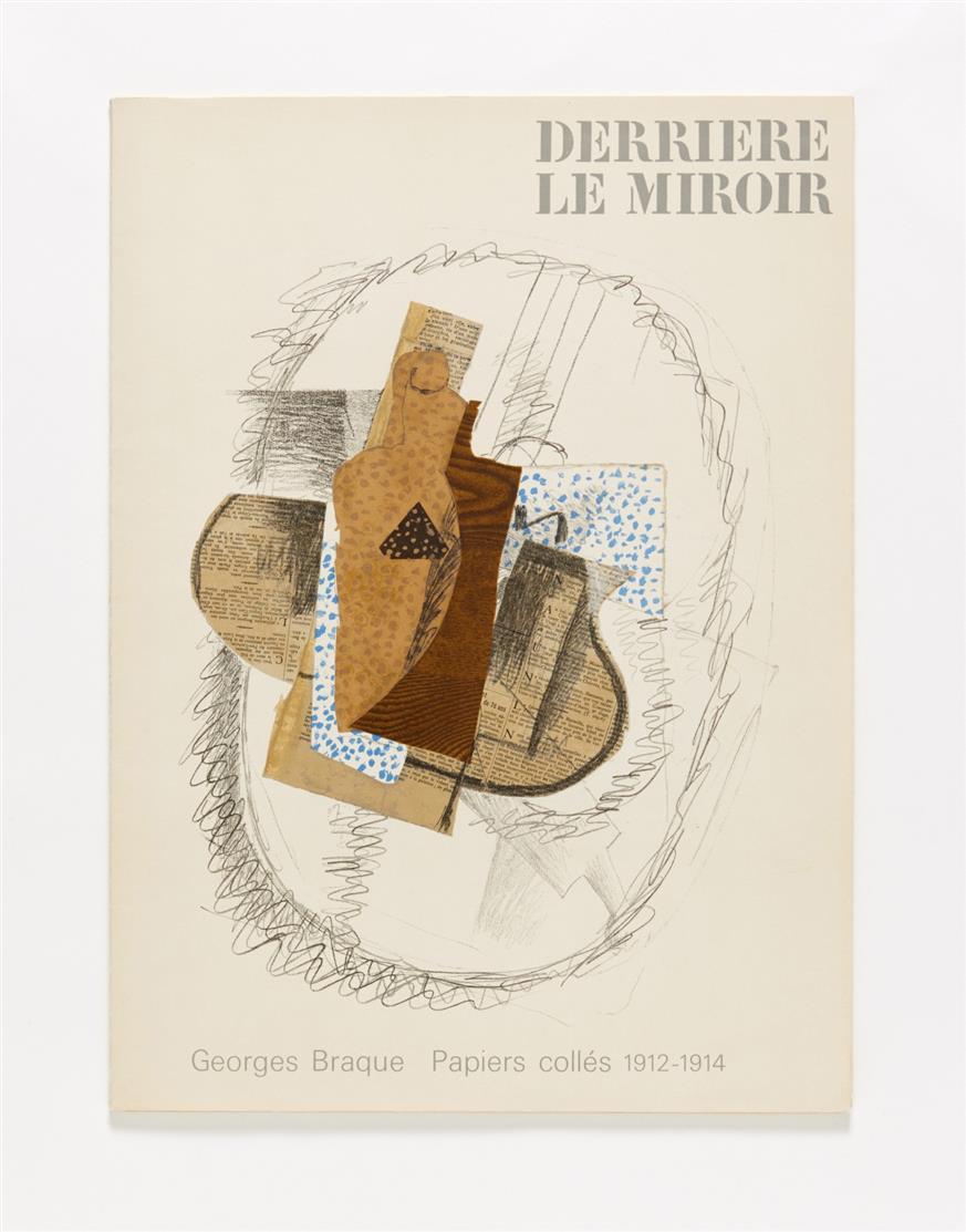 Braque / Giacometti / Steinberg. - Derrière le Miroir. N° 53-54, 65 und 138. 3 Hefte. Paris 1953-1963.