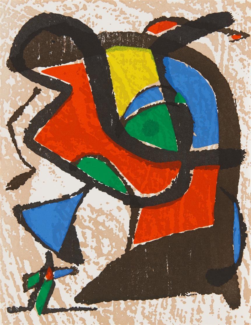 J. Miró. - J. Dupin, Miró Radierungen. 4 Bde. Paris 1984-2001 Mischex. dt. / engl.