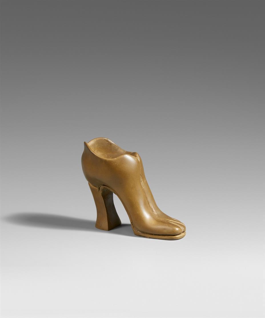 Jürgen Klauke. Fußschuh. 1977. Bronze. Signiert. Ex. 3/60.