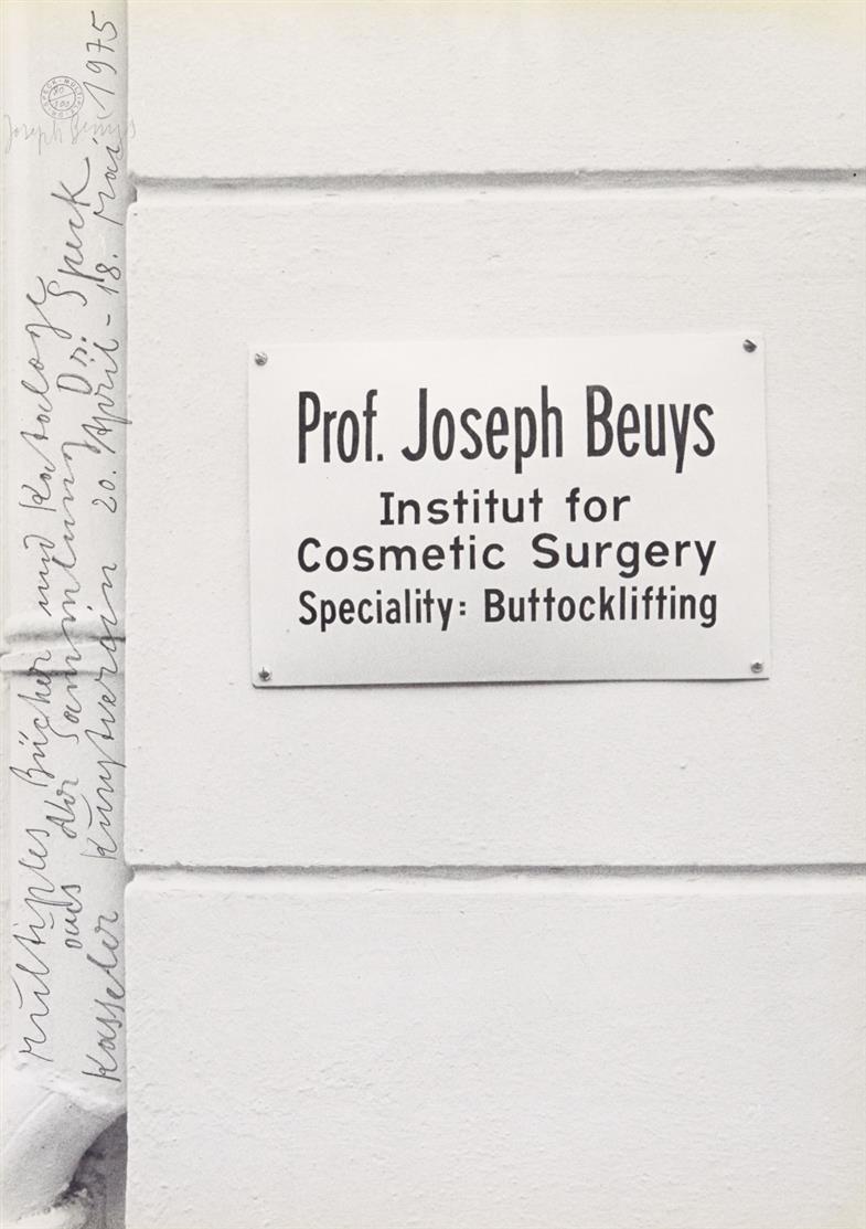 Joseph Beuys. Dr. Speck - Multiple. 1975. Offset. Signiert. Ex. 80/100. Schellmann 150