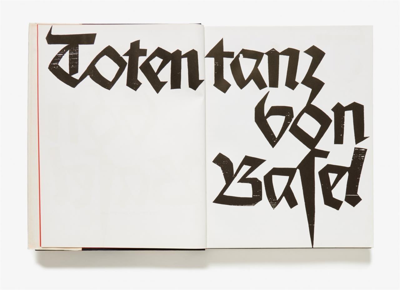 HAP Grieshaber. Totentanz von Basel. Dresden 1966.