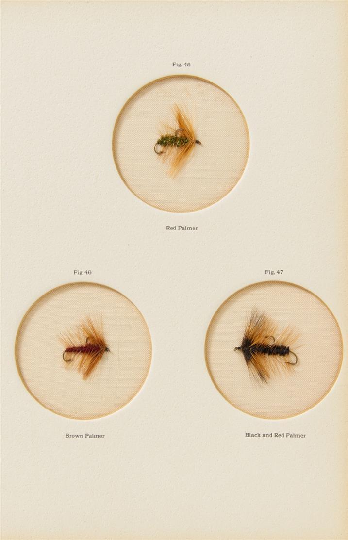A. Ronalds, The fly-fisher's entomology. 2 Bde. Liverpool 1913. - Eines von 250 Exemplaren.