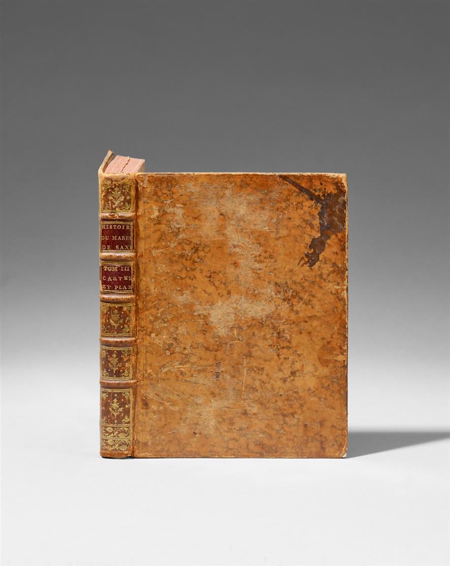 J. B. J. Saguet d'Espagnac, Histoire de Maurice, Comte de Saxe. 3. ed. Nur Tafelband. Paris 1775.
