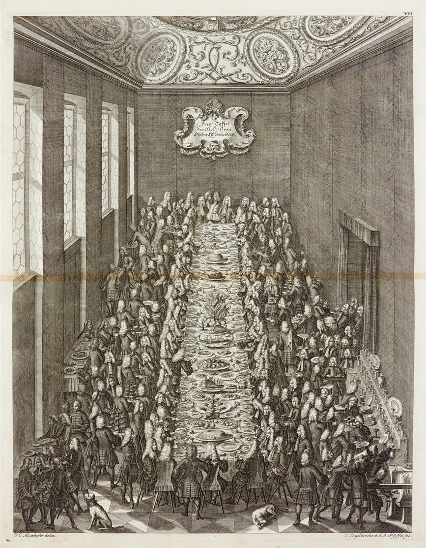 Mair v. Mairsfeld,  Beschreibung, was auf Ableiben Josephi sich hat zugetragen. Wien 1712.