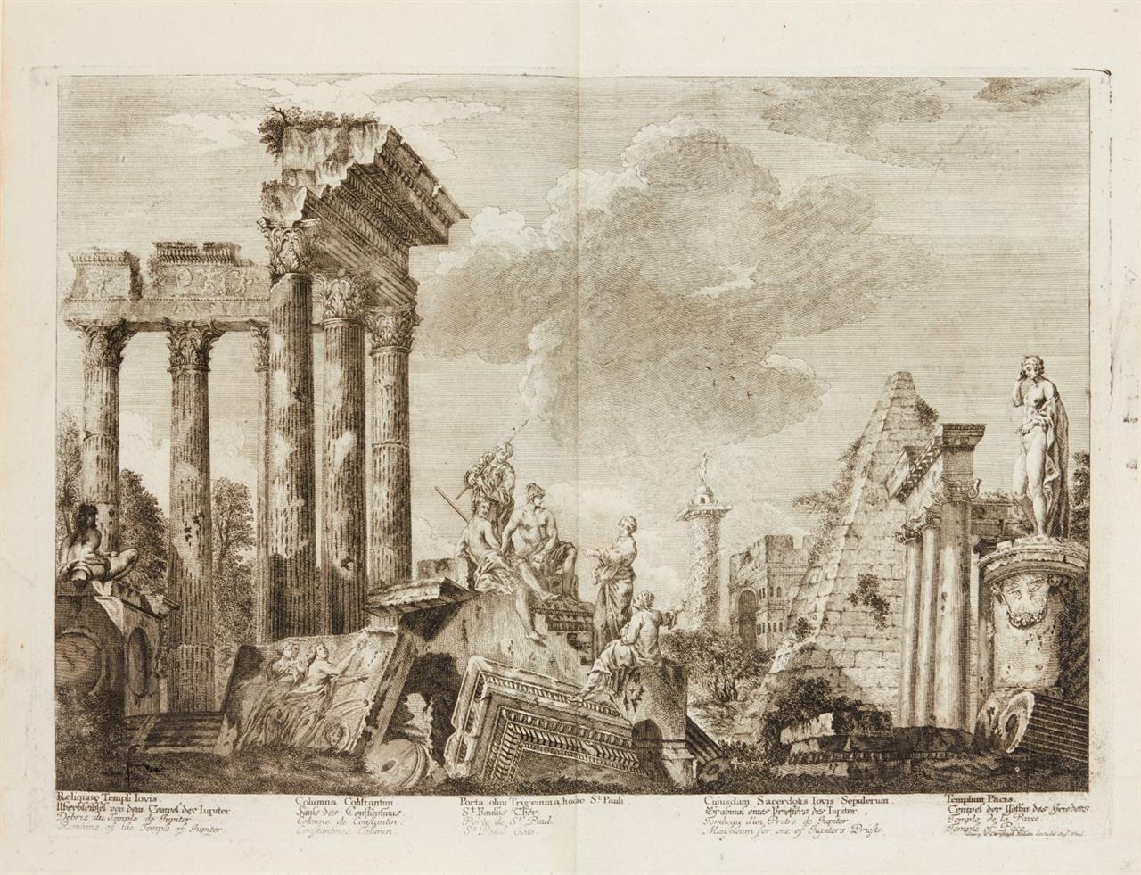 J. Barbault, Denkmäler des alten Roms. Neue Aufl. 2 Bde. Lpz 1803.