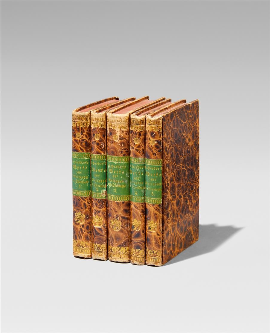 J.G. v. Herder, Sämmtliche Werke. 60 Bände. 1827-30.