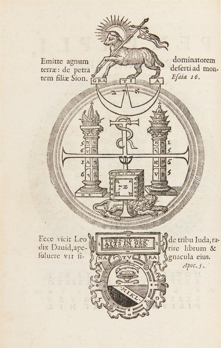 M. v. Aitzing, Pentaplus regnorum mundi. Antwerpen 1579.