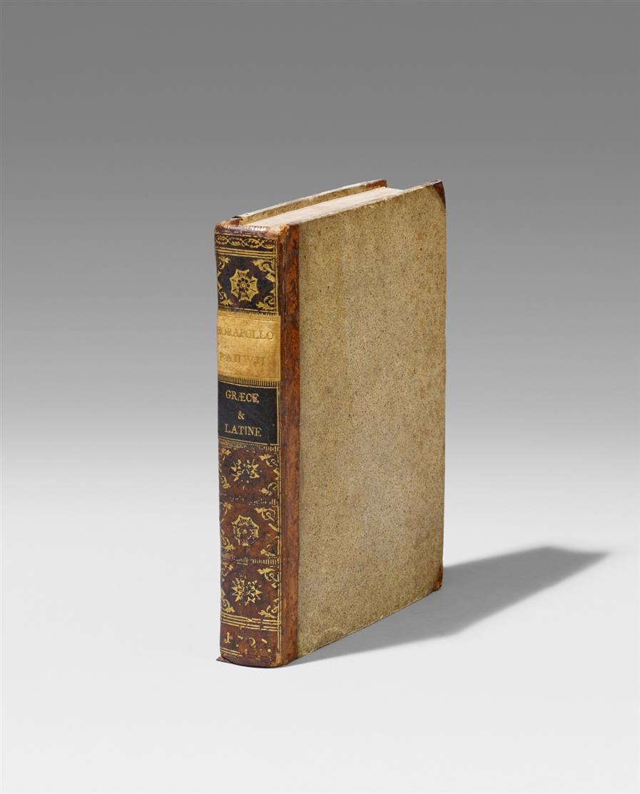 Horapollon, Hieroglyphica graece & latine. Utrecht 1727.