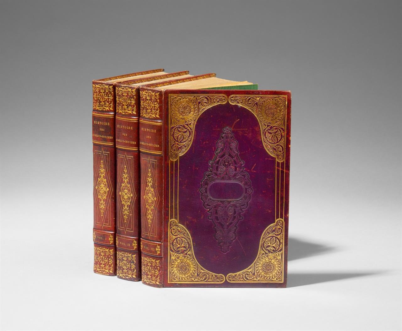 R. P. Lesson, Histoire naturelle des Oiseaux-mouches. 3 Bde. Paris 1829-30.