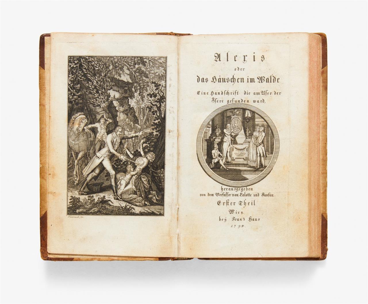 F. G. Ducray-Duminil, Alexis oder das Häuschen im Walde. (Dt. v. G. Schaz). 2 Bde. Wien 1793-94.