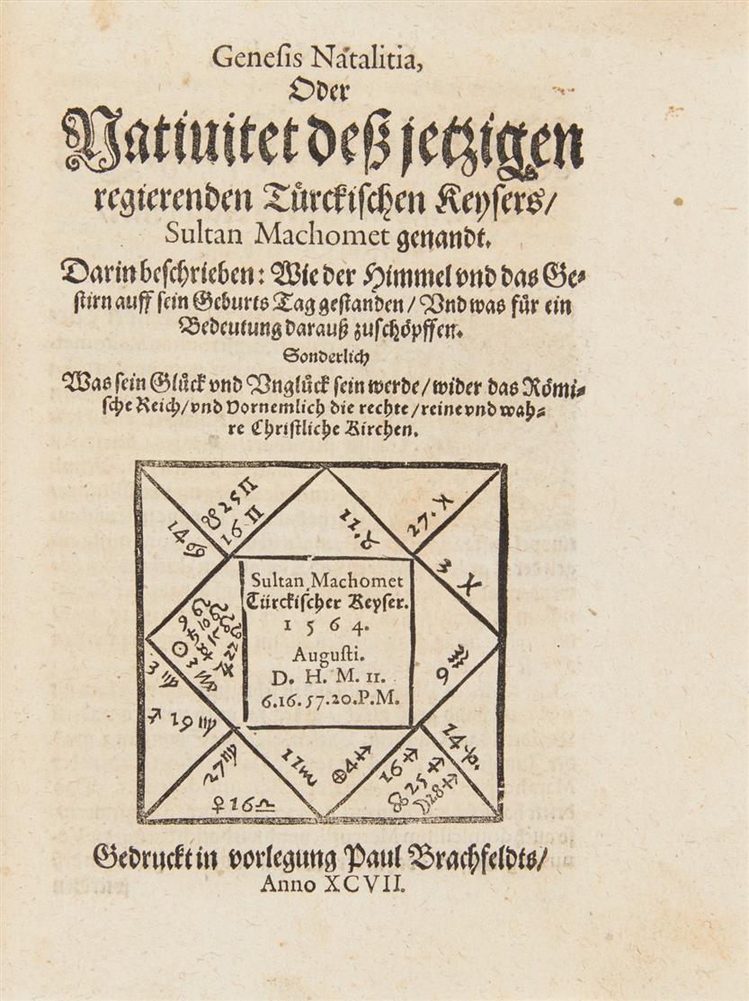 Sammelband mit 17 Schriften zu verschiedenen Themen. 1592-1603.