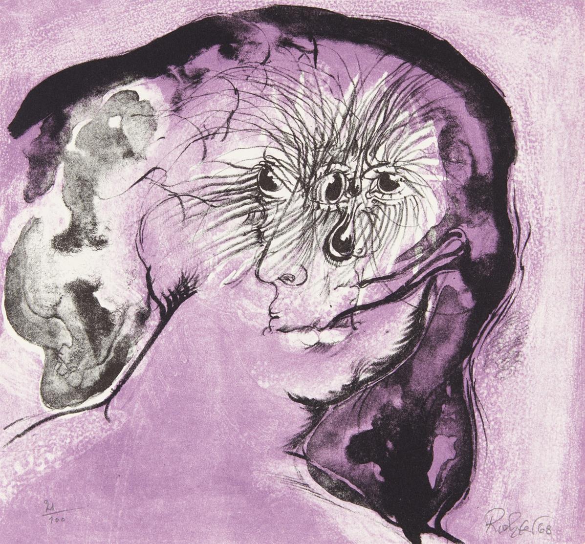 H. Richter, Les neuf Muses. Paris 1968. - Ex. 4/210 der VA.