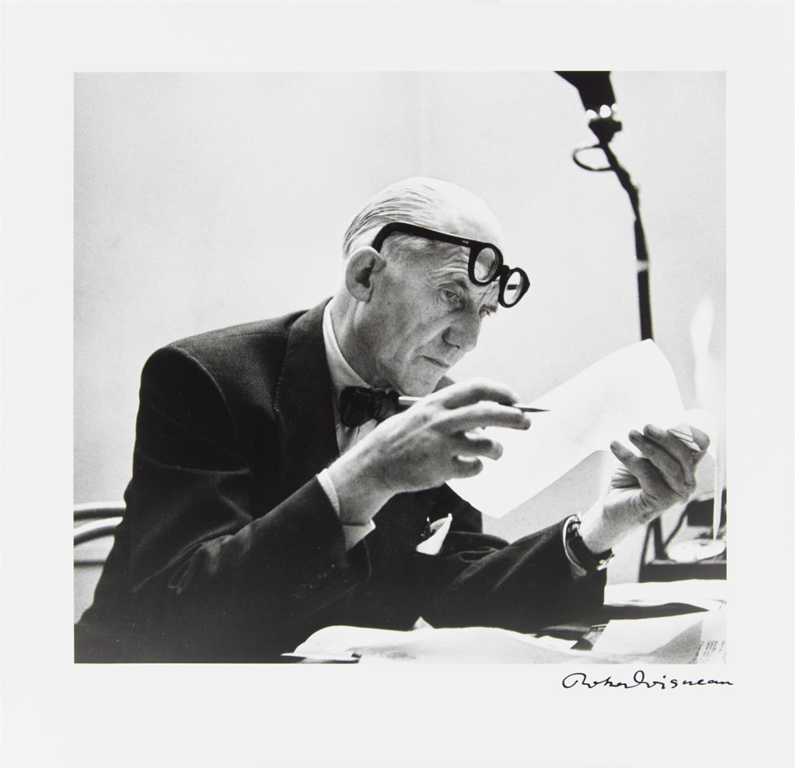 R. Doisneau / J. Petit, Bonjour Monsieur Le Corbusier. Zürich 1988. - Ex. 146/150 der VA.
