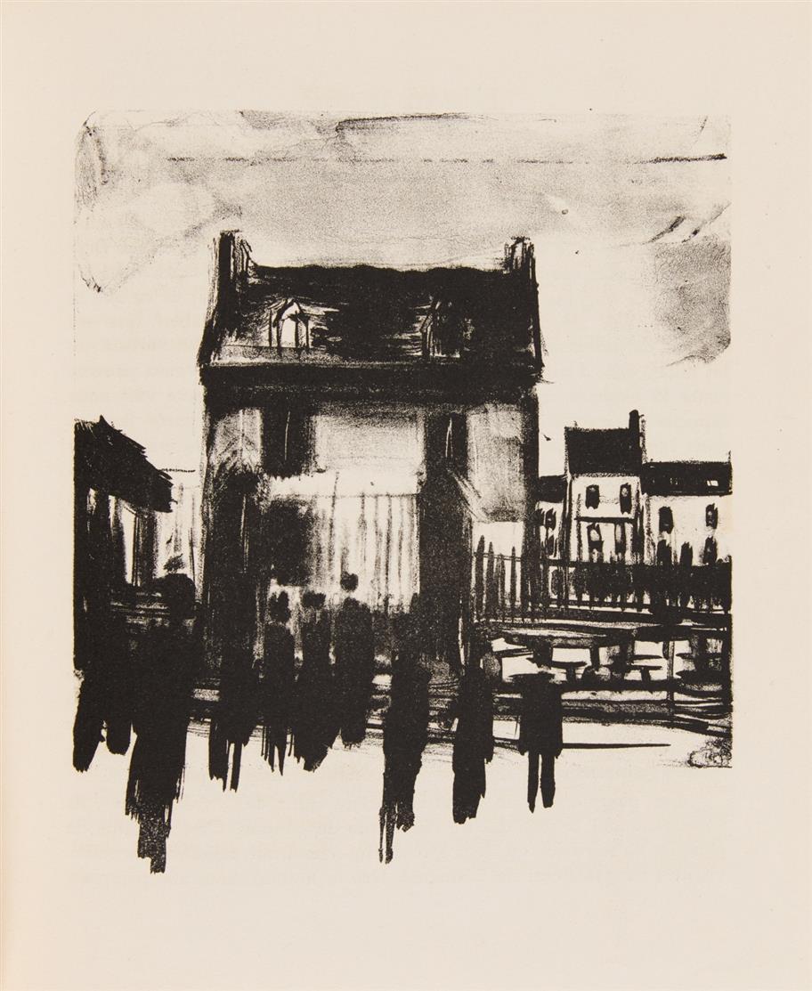 R. Radiguet / M. de Vlaminck, Le diable au corps . Paris 1926. - Ex. 316/300 (325).