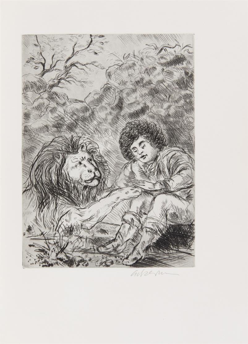 J. W. v. Goethe / H. Ackermann, Novelle. - Memmingen 1982. - Ex. 13/100.