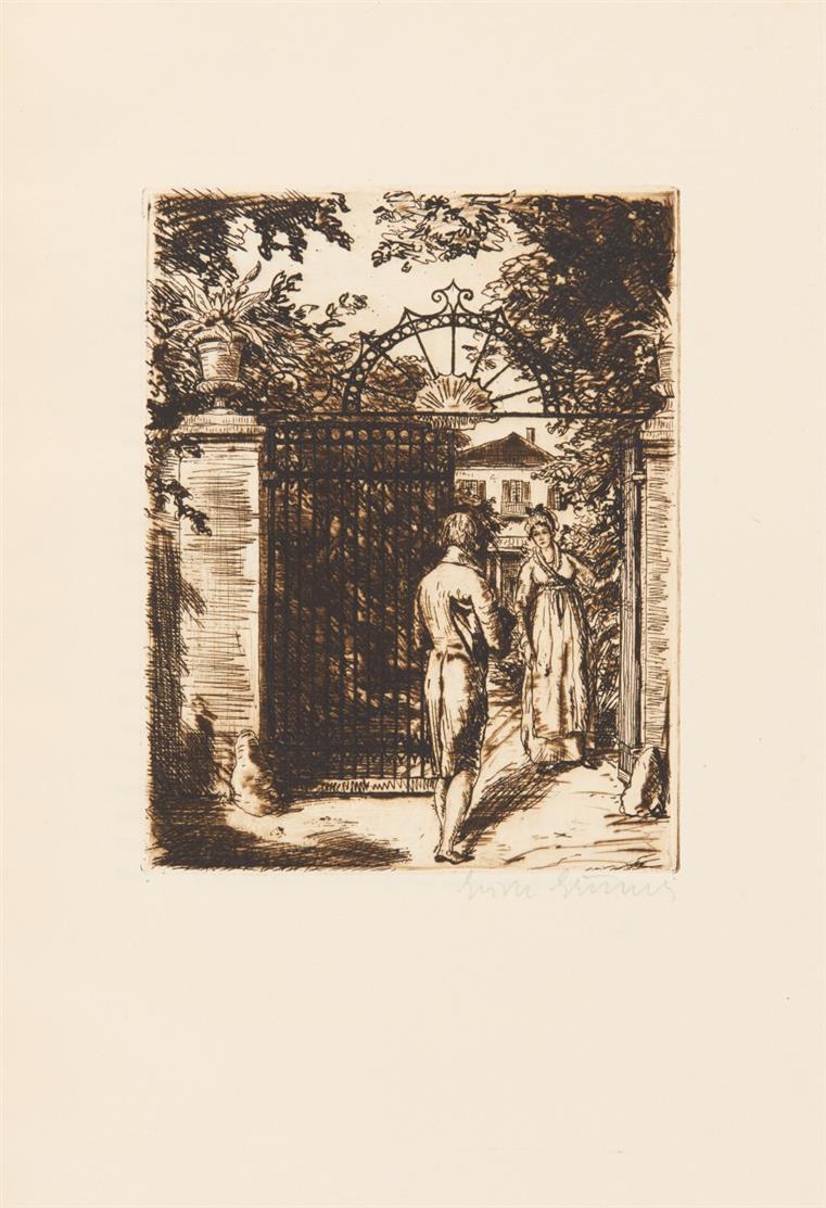 A. Stifter / E. Gruner, Das alte Siegel.  Lpz. 1920. - Ex. 16/100.