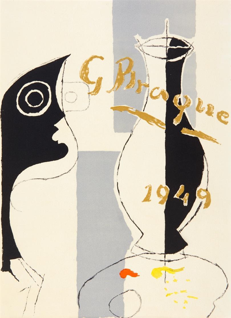 G. Braque / P. Reverdy, Une aventure méthodique. Paris 1949 (-1950). - Ex. 52/250.