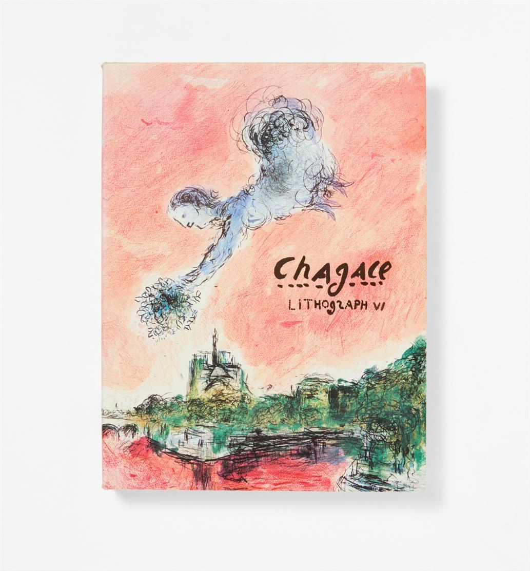 Ch. Sorlier, Chagall Lithograph V und VI (dt. Ausg.)  in 2 Bdn. Monte Carlo 1984-86.