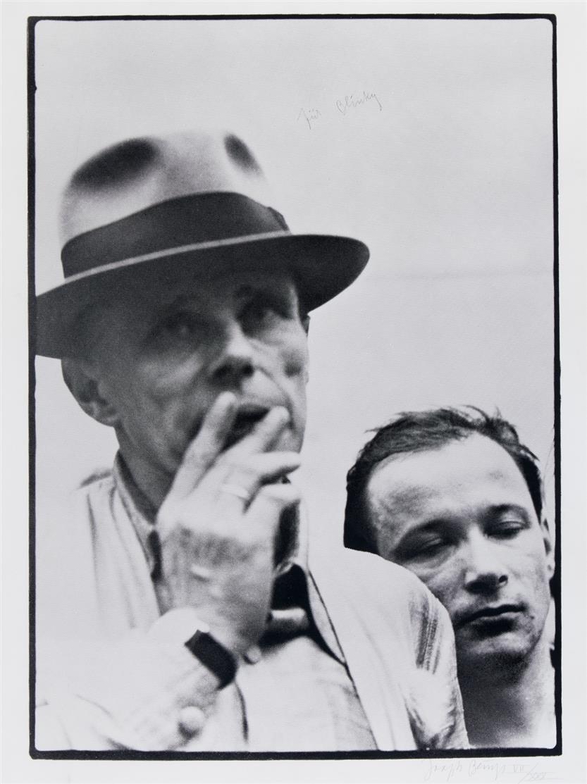 Joseph Beuys. Für Blinky. 1980. Siebdruck. Signiert. Ex. VII/XXX. Schellmann 335.