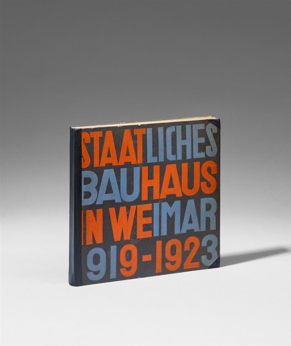 Staatliches Bauhaus Weimar 1919-1923. Weimar-München 1923.