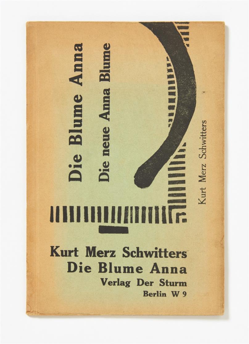 K. Schwitters, elementar. Die Blume Anna. Die neue Anna Blume. Eine Gedichtsammlung. Berlin [1923].