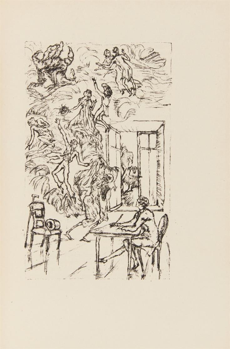E.T.A. Hoffmann, Der Sandmann. Illustr. v. G. Königer. 1915-16. Ex. Nr. 189