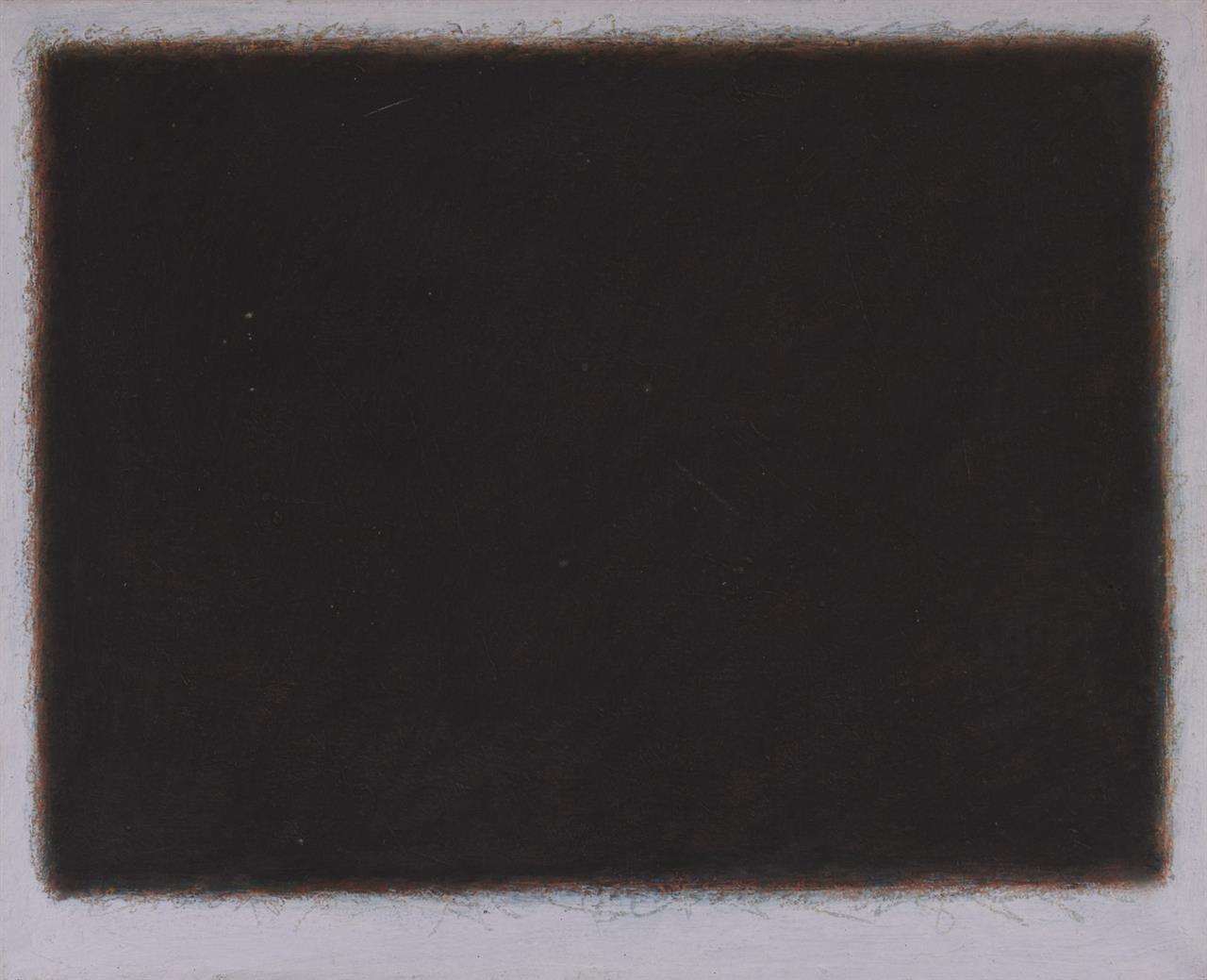 Bernd Berner. Ohne Titel. 1961. Öl auf Leinwand. Verso signiert. Werknummer 361.