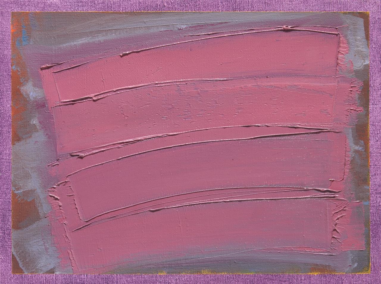 Claudio Verna. Ohne Titel. 1978. Öl auf Leinwand. Verso signiert.