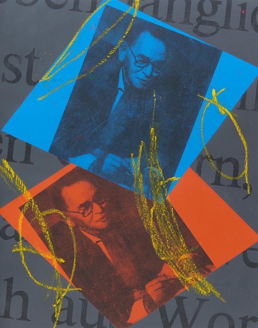 D. Haack/ A. Fabri, Das Wort. Köln 1989. -  Unikat - Mit pers. Widmung von Künstler u. Autor.