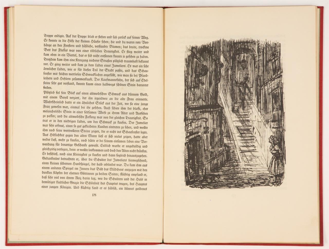 A. Kubin / H. v. Hofmannsthal. Drei Erzählungen. Leipzig 1927. Ex. 515/670.