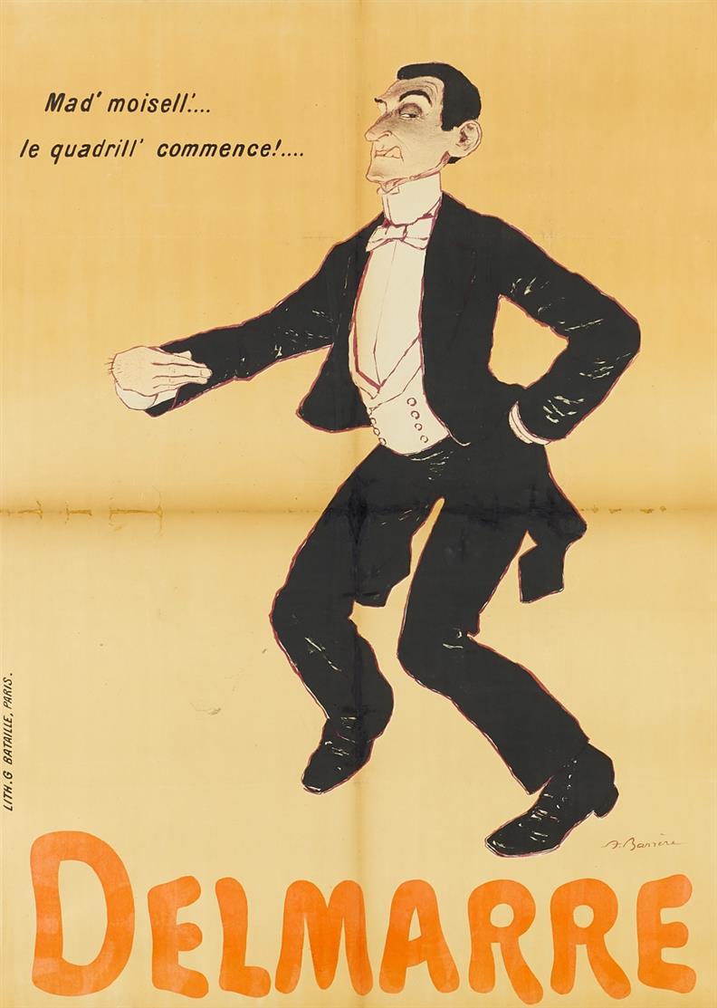 Adrien Barrère. Delmarre. Um 1910. Plakat.