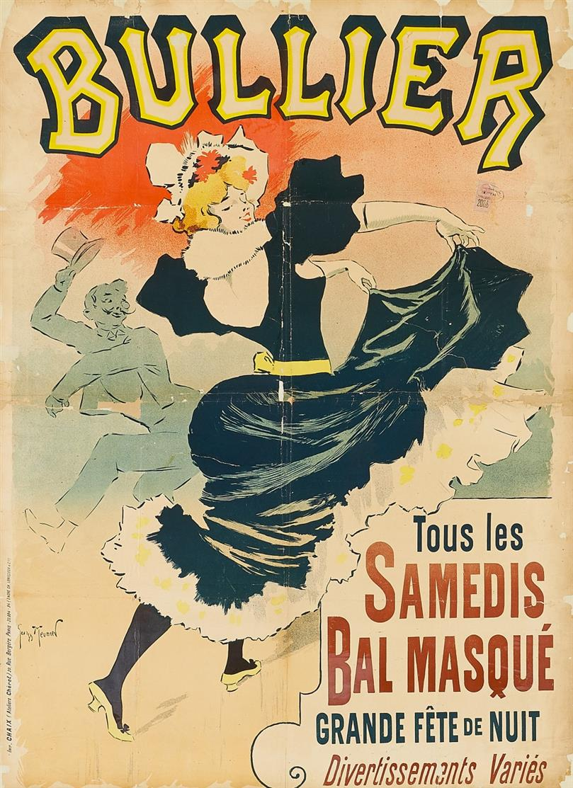 Georges Meunier. Bullier. 1894. Plakat.