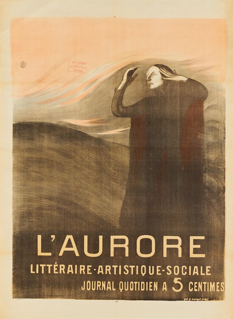 Eugène Anatole Carrière. L'Aurore. (1897). Plakat.