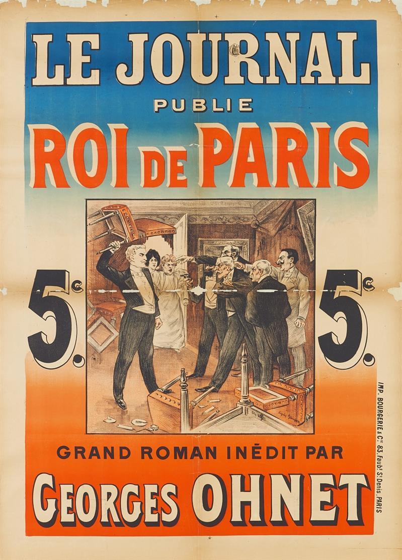 Théophile Alexandre Steinlen. Roi de Paris. (1898). Plakat.