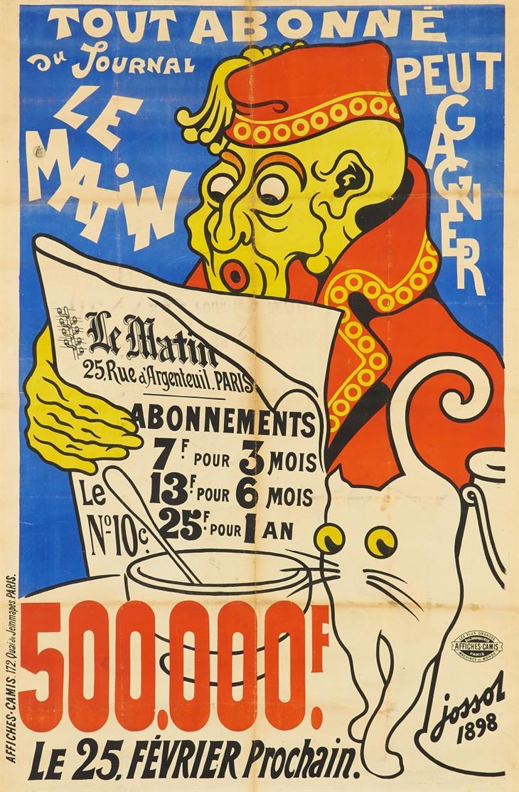 Henri Jossot. Le Matin. 1898. Plakat.