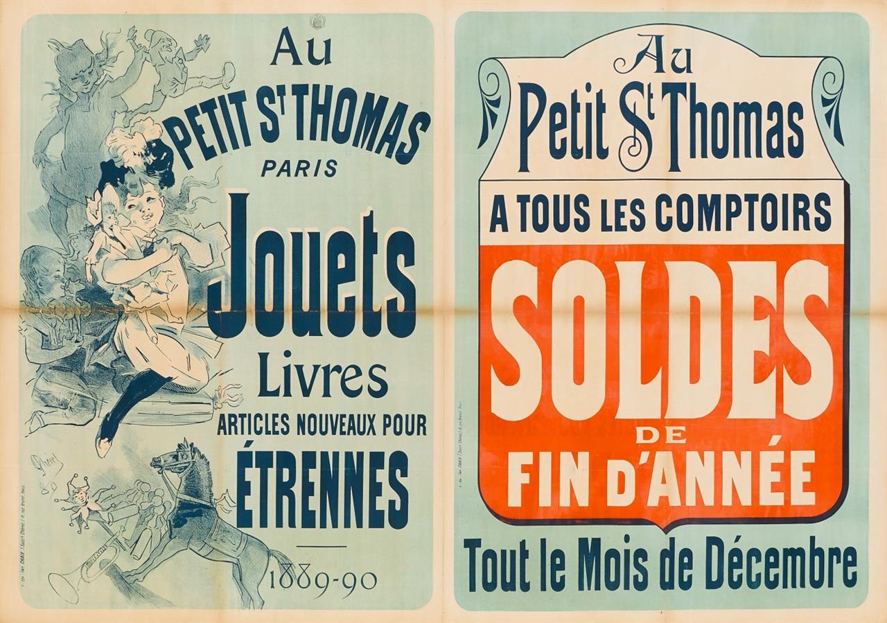 Jules Chéret. Au Petit St. Thomas. 1889/90. Plakat.